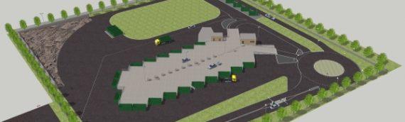 Återvinningscentralen i Arden valde Modulo Beton