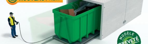Udtræksbar container