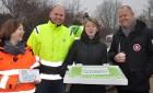 Indvielse af genbrugsstationen I Høje-Taastrup kommune den 25 januar.