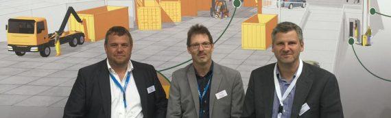 Så er vi i gang på IFAT i München.