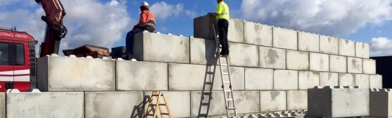 Modulo systems installerer gigantiske materialebåse til Århus havn