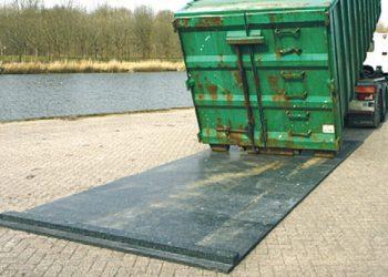 Containerunderlag