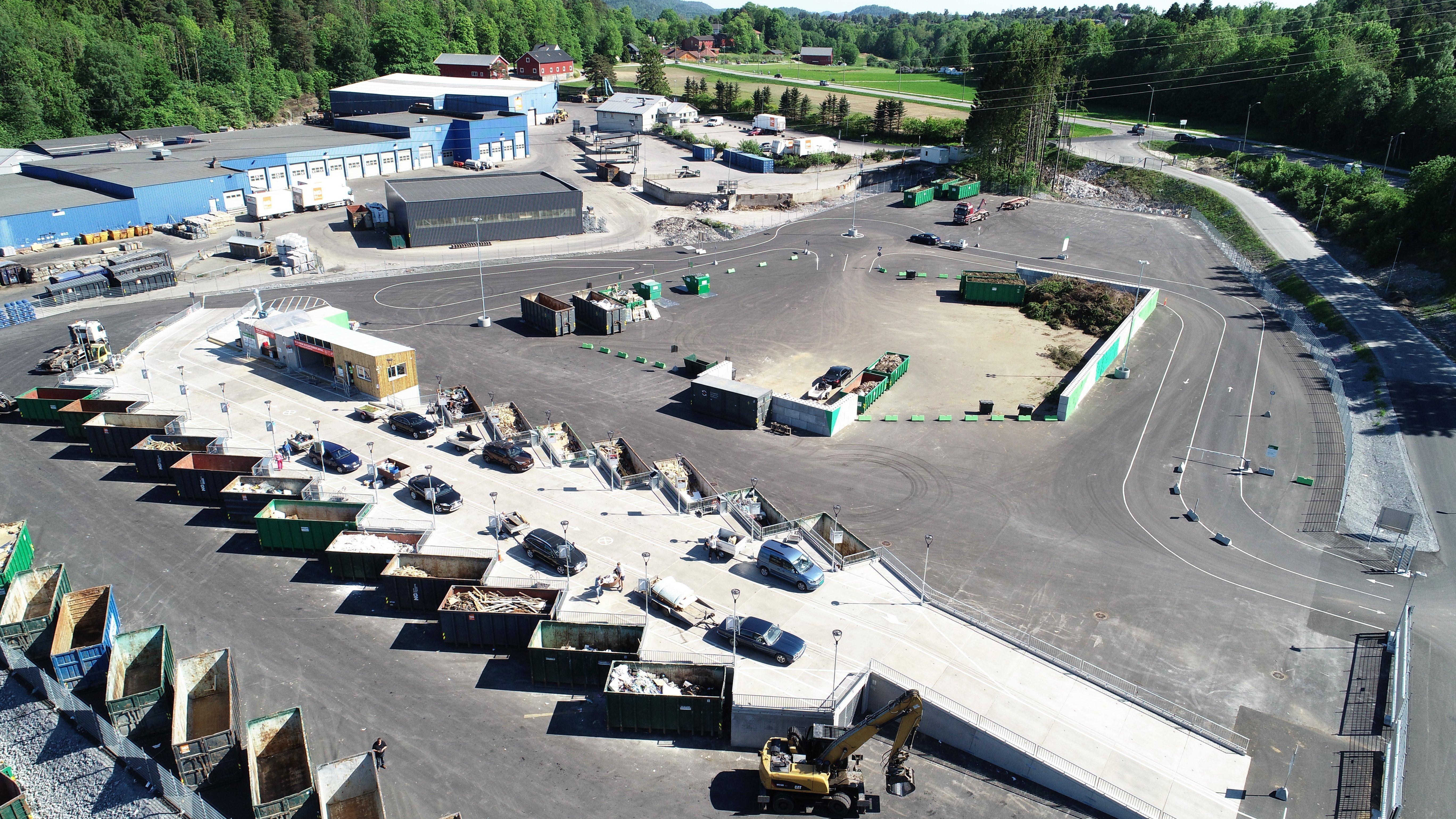 Modulo Systems er totalleverandør af genbrugspladser og udstyr til affalds- og genbrugsbranchen