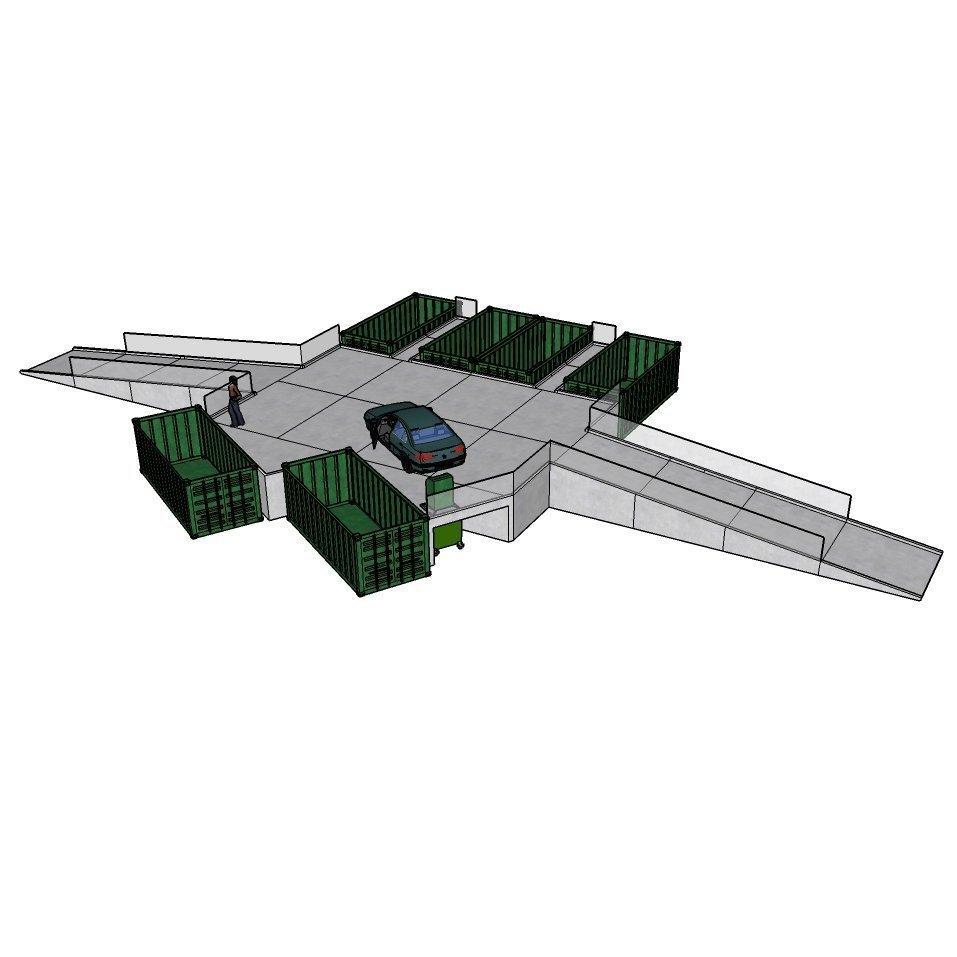 Easydrop 6 genbrugsplads