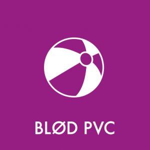Blød PVC klistermærke til sortering af affald