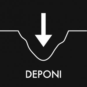 Deponi klistermærke til sortering af affald