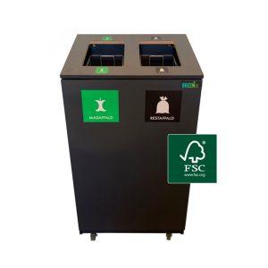 Skraldespande til sortering af affald