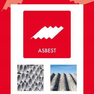 Affaldsskilt Asbest