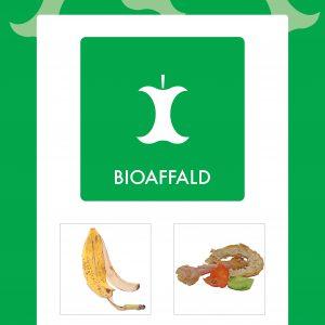 Affaldsskilt Bioaffald